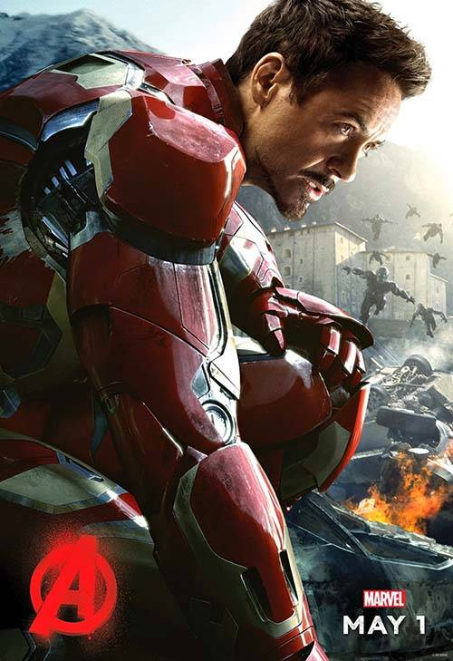 Avengers Age Of Ultron Movie Posters Gadgetsin