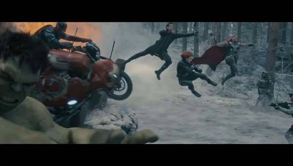 Avengers: Age of Ultron Movie Trailers