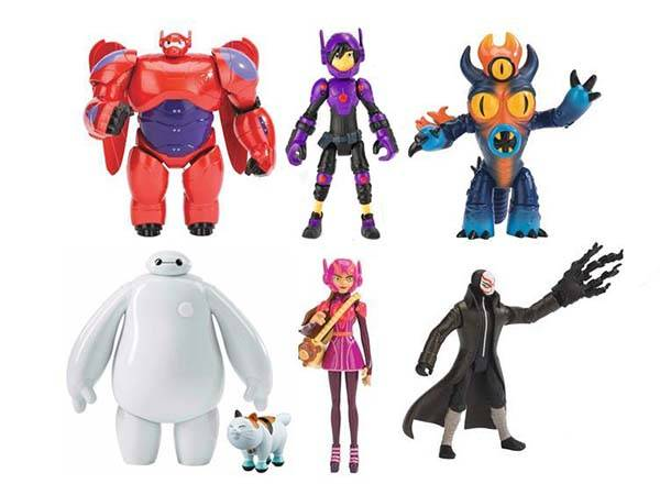 Big Hero 6 Action Figure Series
