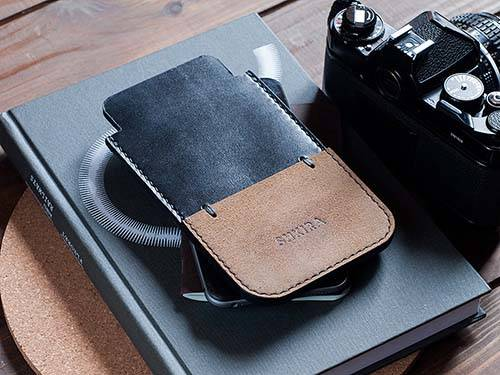 Handmade Horween Chromexcel Leather iPhone 6 Case