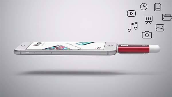 iKlips Lightning USB Flash Drive for iPhone and iPad