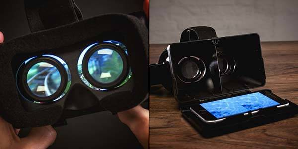 Immerse VR Headset with Adjustable Lens