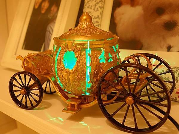 infoThink Cinderella Carriage USB LED Lamp