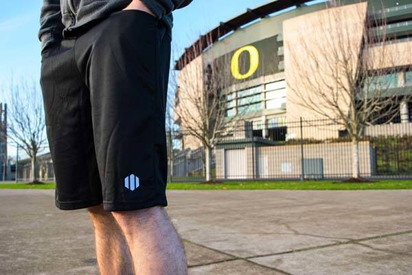 Keap Athletic Shorts Prevent Your Stuff from Falling out of Your Pockets