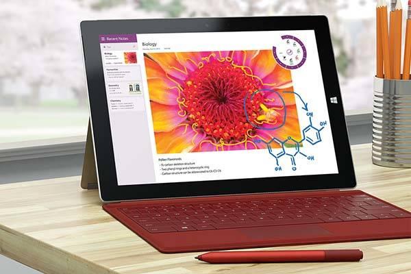 Microsoft Surface 3 Windows Tablet