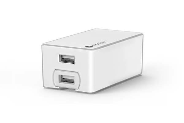 Mophie Dual Wall Charger with a Removable Car Charger