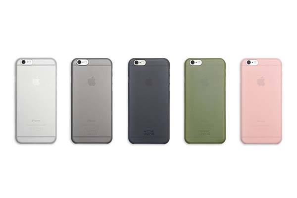 Native Union CLIC Air Anti-Bacterial iPhone 6 Plus and iPhone 6 Cases