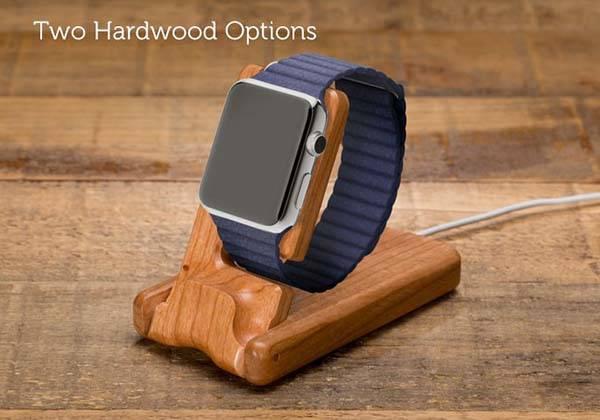 pad quill luxury pocket apple watch charging station gadgetsin. Black Bedroom Furniture Sets. Home Design Ideas