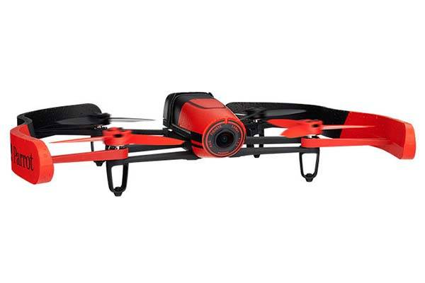 Parrot BeBop Drone Quadricopter with Built-in HD Fisheye and GPS