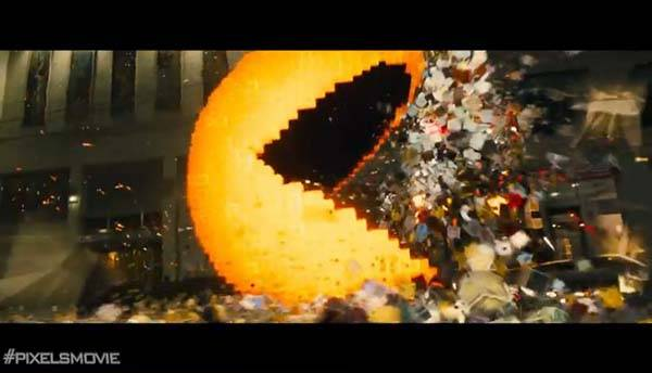 Pixels Movie Trailer Released