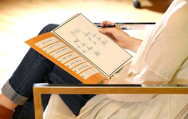 Rocketbook Microwavable Notebook Syncs Notes to Your Cloud Storage