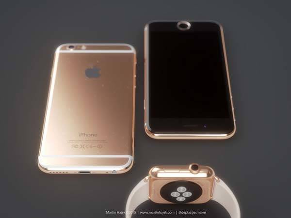 Sleek iPhone 6s Design Concept in Rose Gold