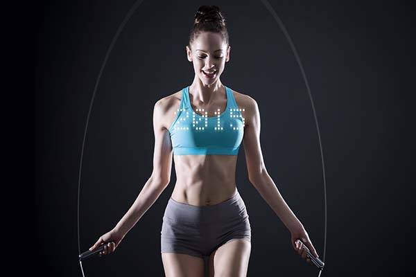 Smart Jump Rope with LED Lights