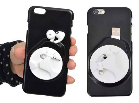 Thanko Cable Winding and Storing iPhone 6 Plus and iPhone 6 Cases