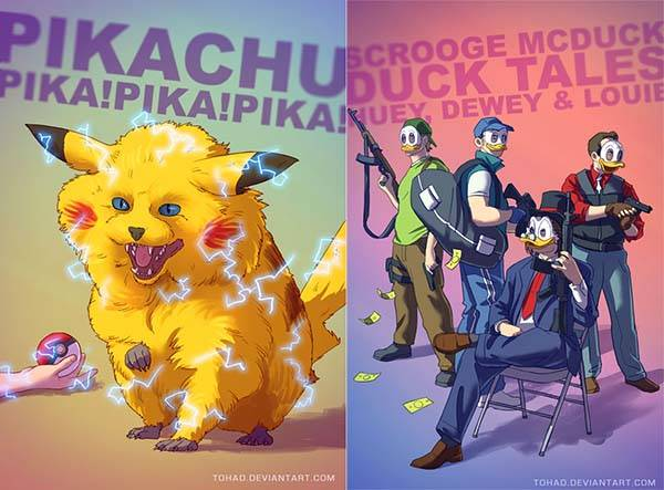 The Amazing Illuminations Shows The Badass Side Of The Pop Culture Characters Gadgetsin