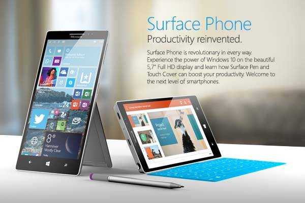 The Concept Surface Phone Runs Windows 10