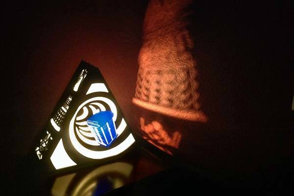The Handmade Doctor Who TARDIS Lamp