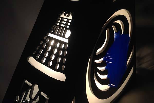 The Handmade Doctor Who TARDIS Lamp