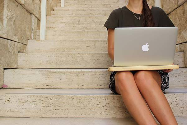 The Handmade Portable Laptop Desk