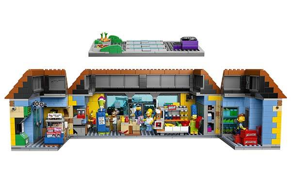 The Simpsons Kwik-E-Mart LEGO Set Announced