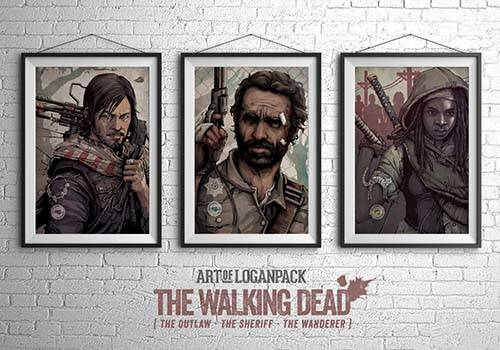 We Are The Walking Dead Poster Set