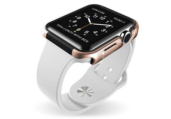 X-Doria Defense Edge Aluminum Apple Watch Case
