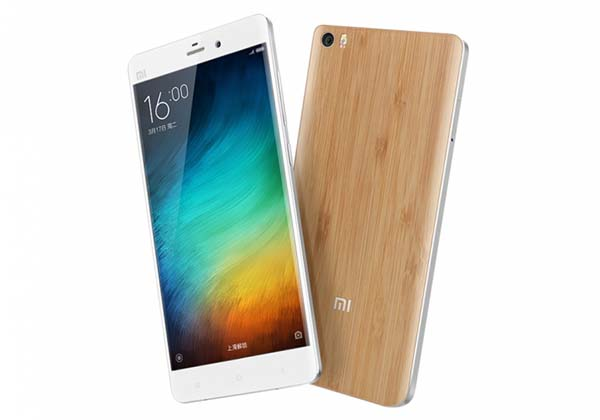 Xiaomi Mi Note Natural Bamboo Edition Smartphone