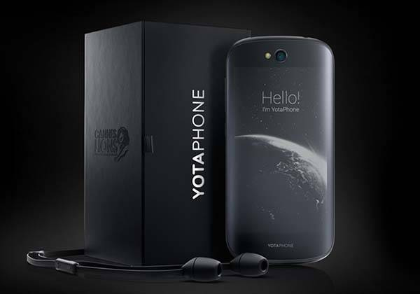 YotaPhone 2 Smartphone with E-ink and LCD Display to be Available via Indiegogo