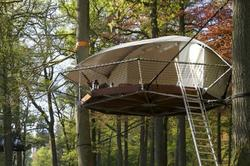 Dom'Up is a Tiny House in the Trees