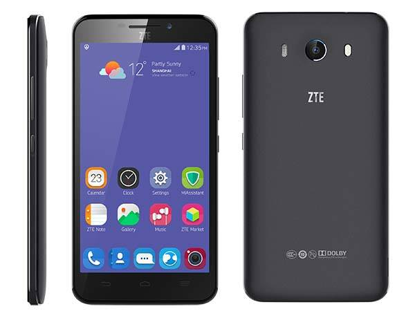 Zte Grand S3 Android Phone With Eye Scanner Announced