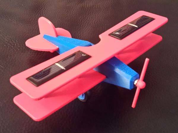 3D Printed Solar Plane Model