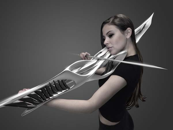 The 3D Printed Violin Shows off Futuristic Design