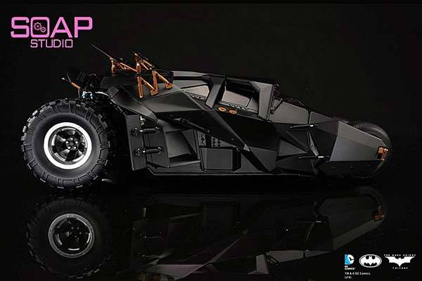Soap Studio App-Enabled Batman RC Tumbler