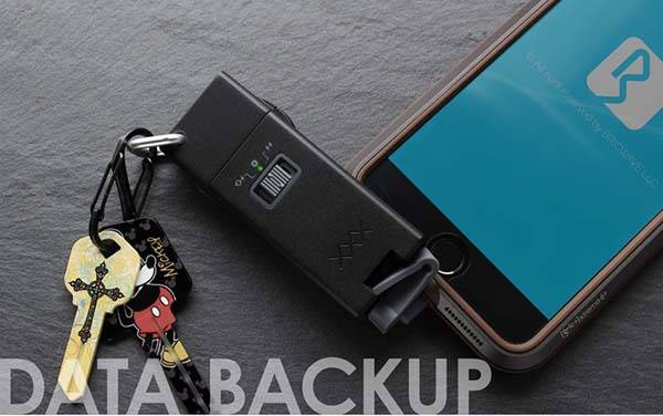 BRICWAVE Express High-Speed Portable Phone Charger with USB Drive