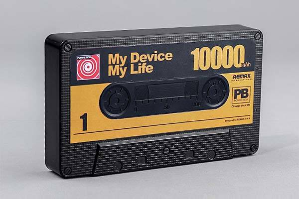 Remax Cassette Tape Shaped Power Bank