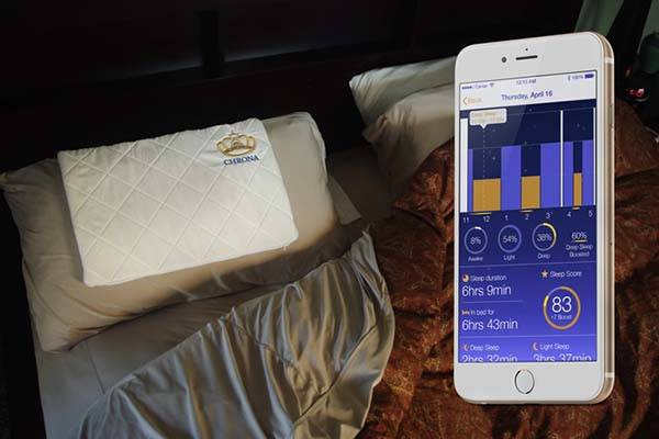 Chrona Turns Your Pillow into Smartpillow