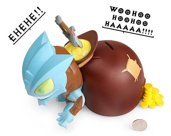 Diablo 3 Goblin Money Bank with Sound