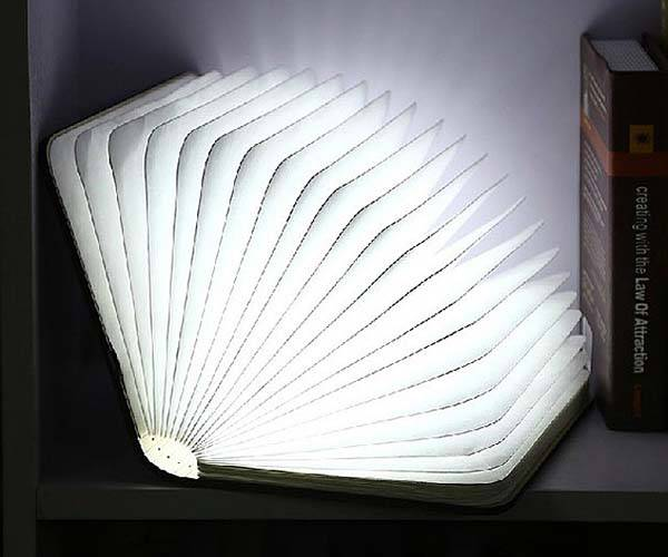 Foldable Book Portable LED Lamp