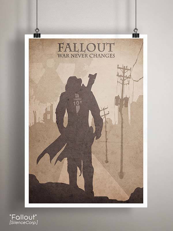Gaming Room Poster Series - Fallout