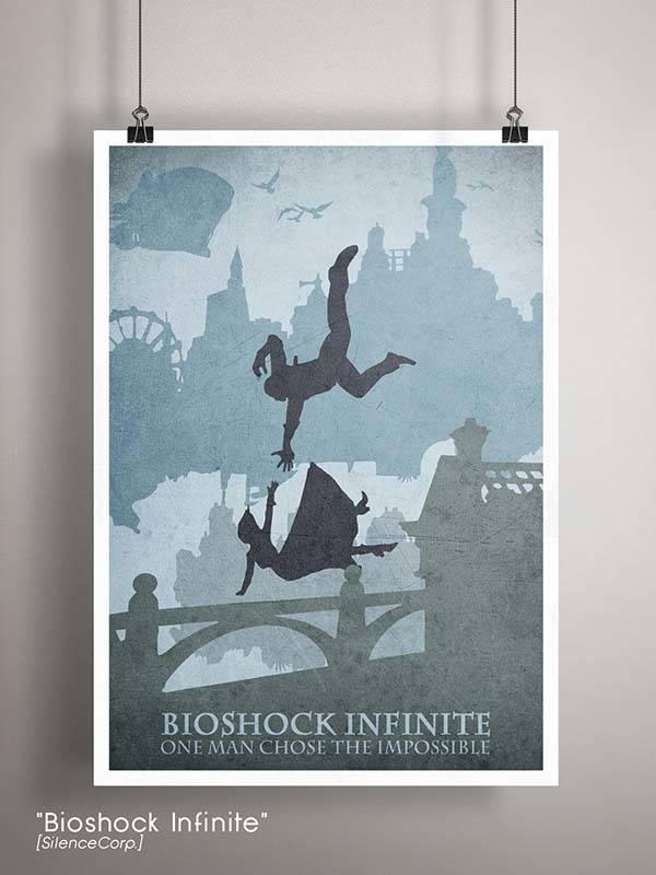 Gaming Room Poster Series - Bioshock Infinite