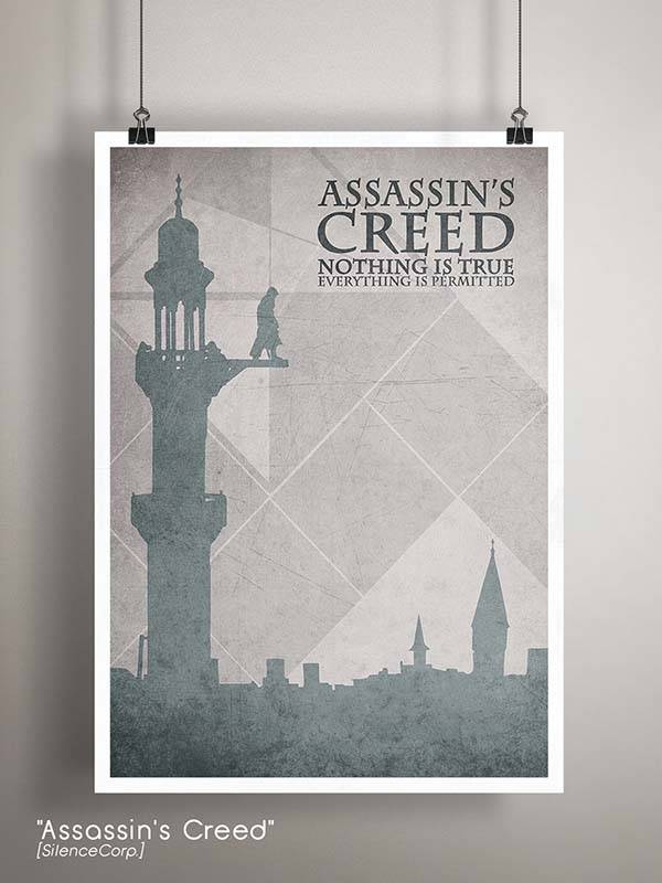 Gaming Room Poster Series - Assassin's Creed