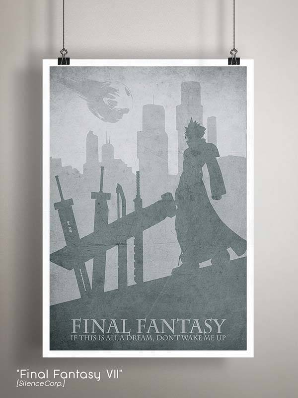 Gaming Room Poster Series - Final Fantasy