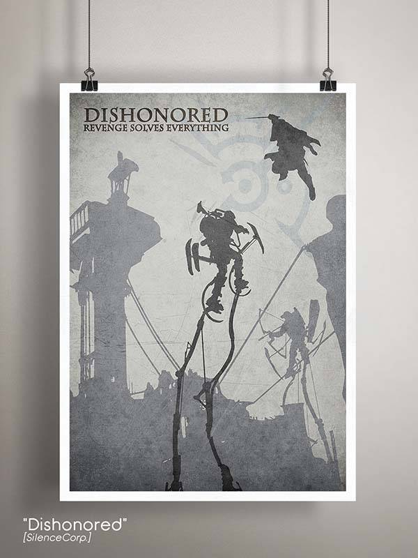 Gaming Room Poster Series - Dishonored