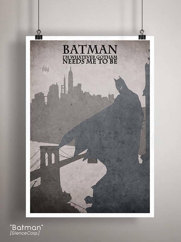 Gaming Room Poster Series - Batman