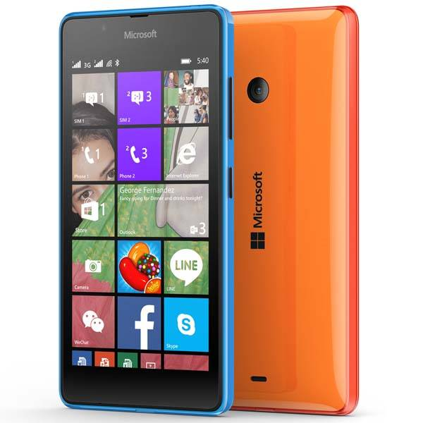 Microsoft Lumia 540 Dual SIM Windows Phone