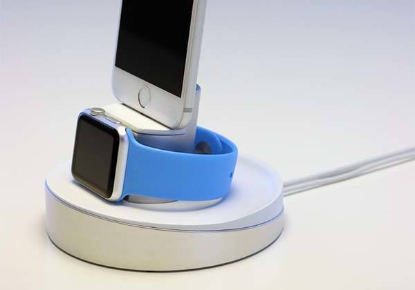 Night Stand iPhone and Apple Watch Charging Station