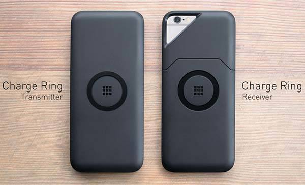 The ON iPhone 6 Battery Case with Magnetic Wireless Charging Ring