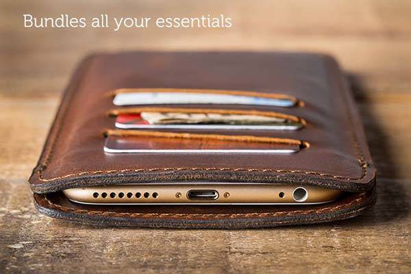 Pad&Quill Valet Sleeve for iPhone 6/6 Plus