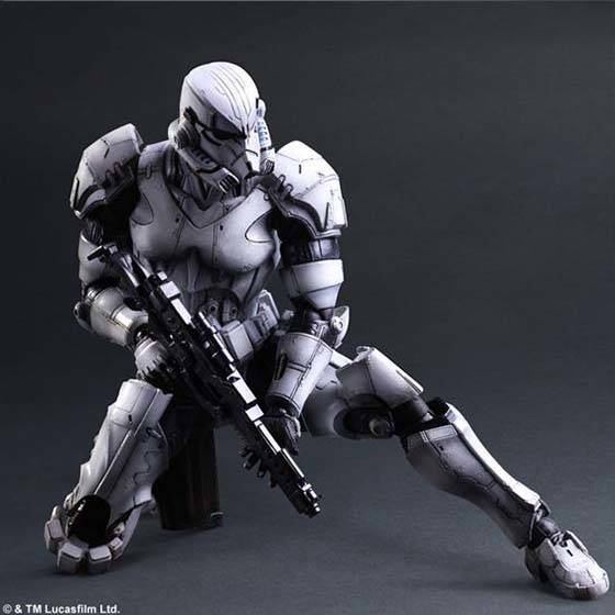 Star Wars Play Art Kai Variant Stormtrooper Action Figure