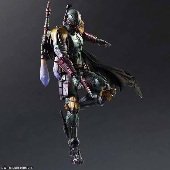 Star Wars Play Arts Kai Variant Boba Fett Action Figure